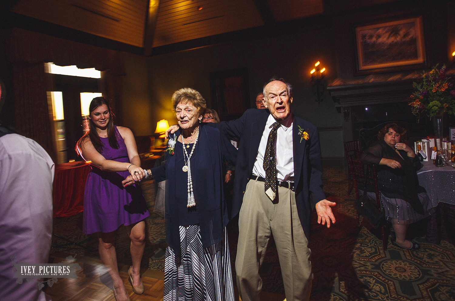 grandfather dancing at wedding