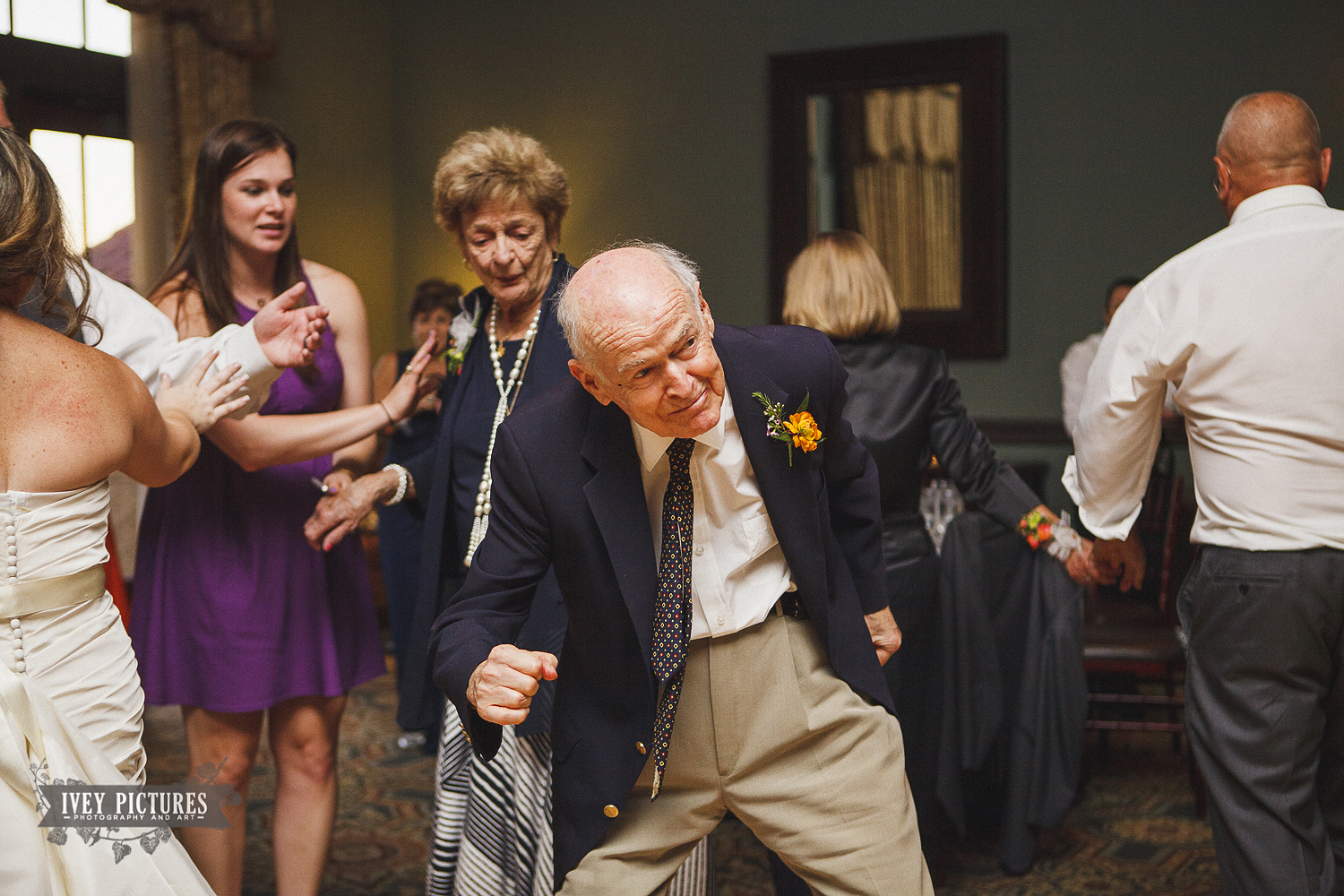 grandfather dancing