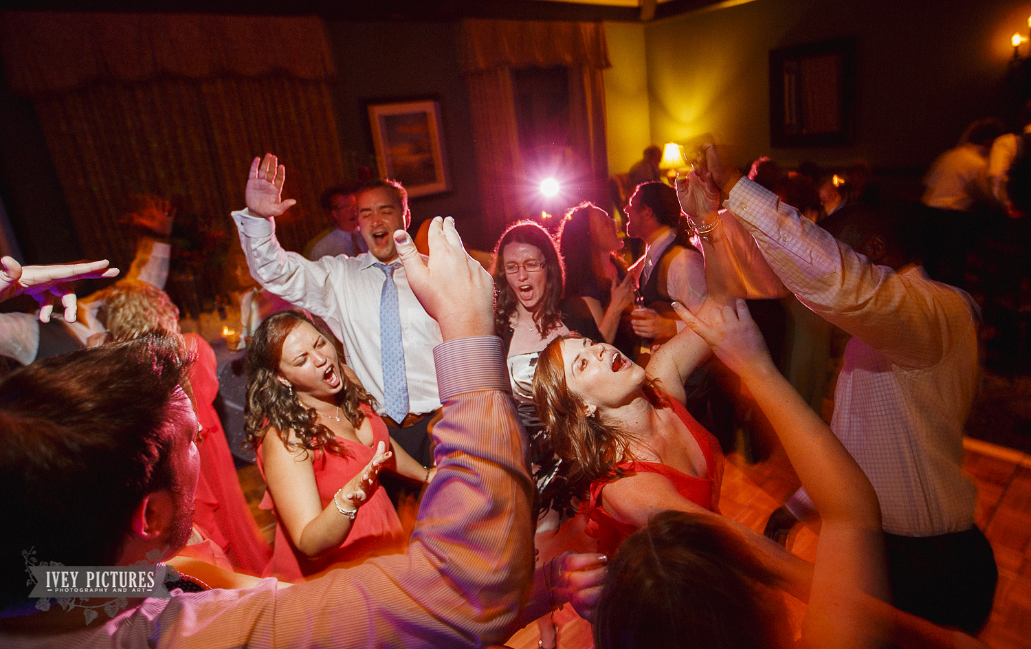 Reception partying