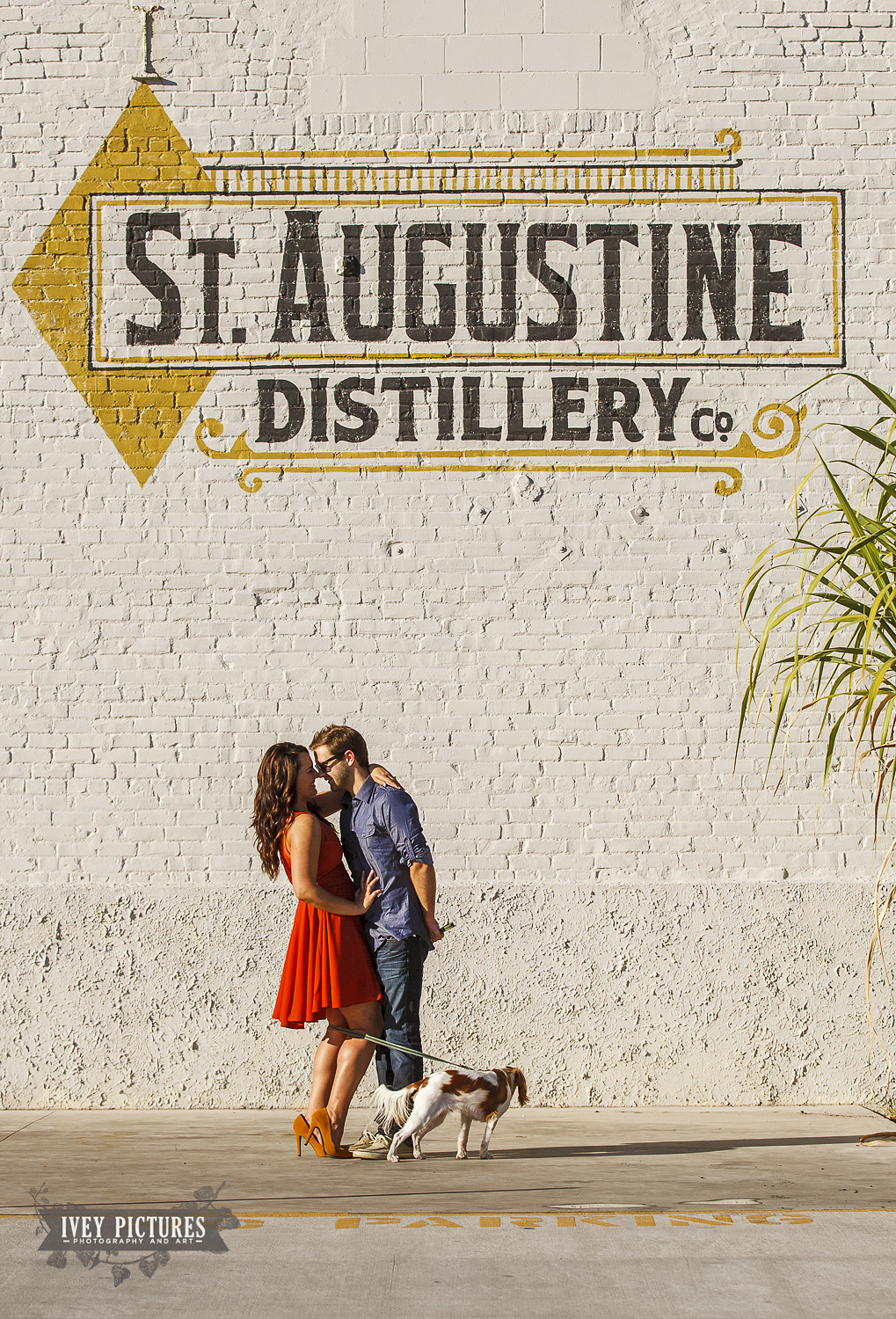 St Augustine Distillery Engagement photos