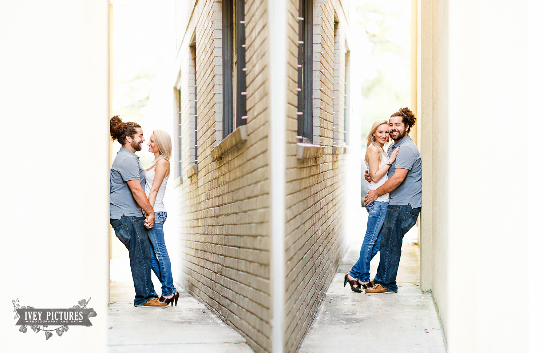 Creative Jacksonville wedding and engagement photographer