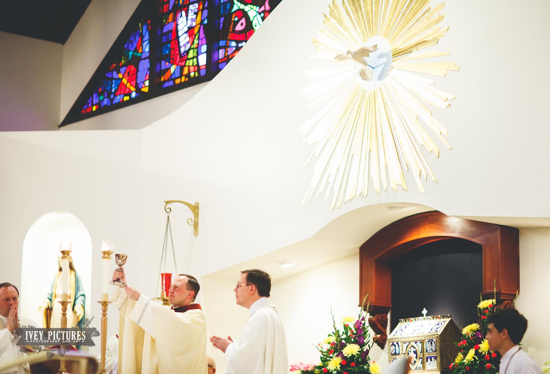 Holy Family Catholic Church Wedding