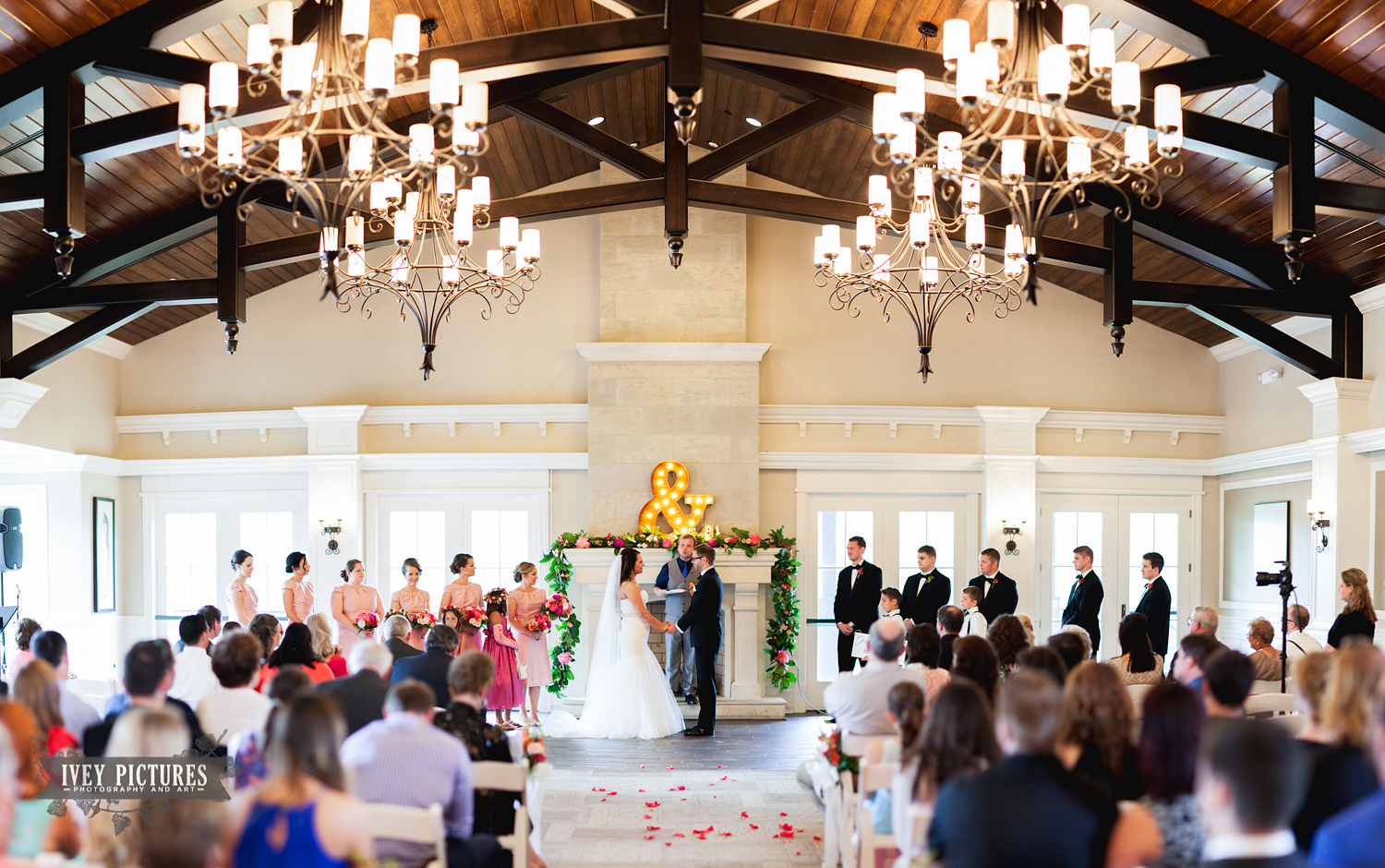 Indoor Wedding at Nocatee CrossWater Hall Ponte Vedra Fl