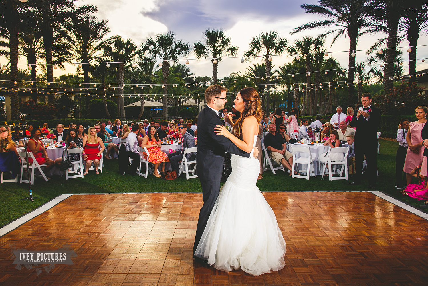Outdoor Reception at Nocatee CrossWater Hall