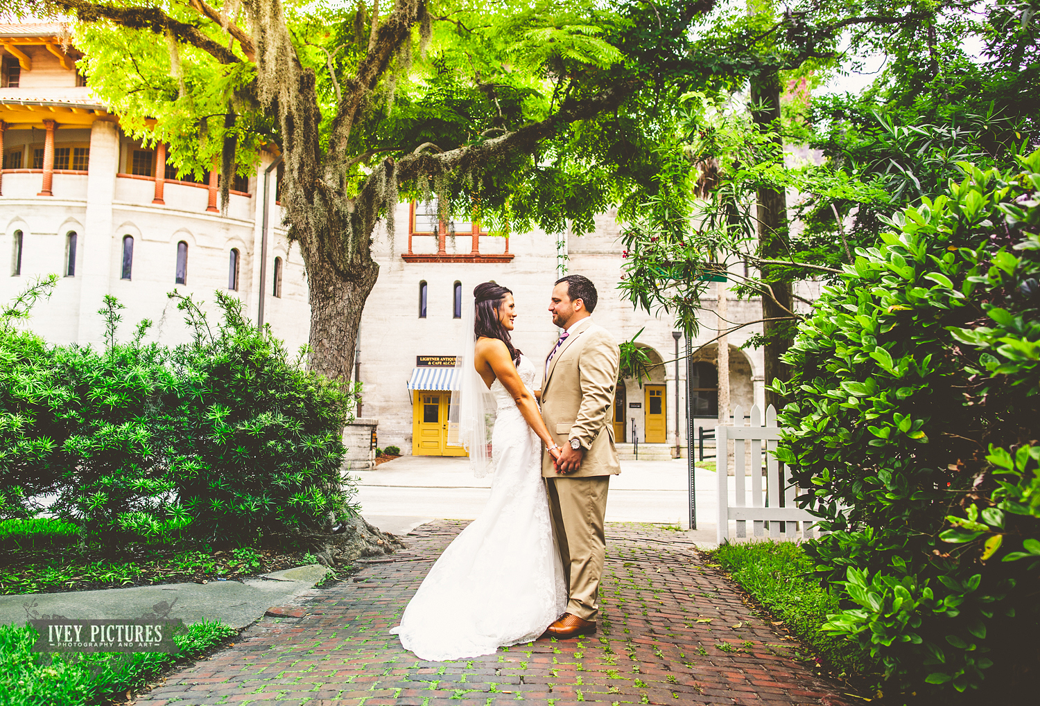 First Look Photos in St Augustine