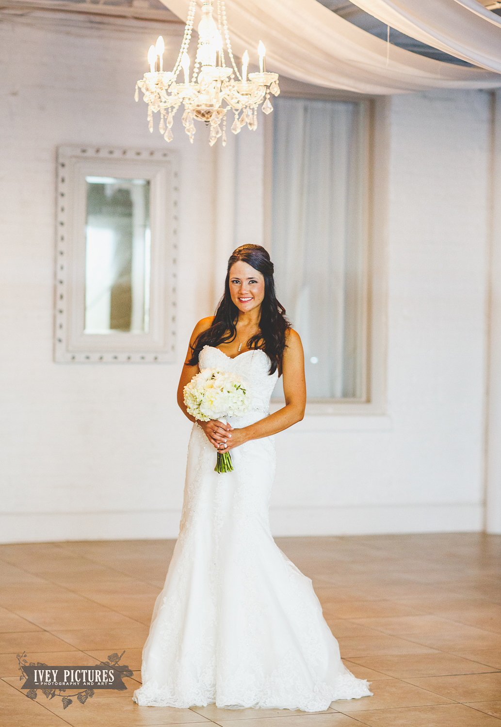 Bride at the White Room St Augustine