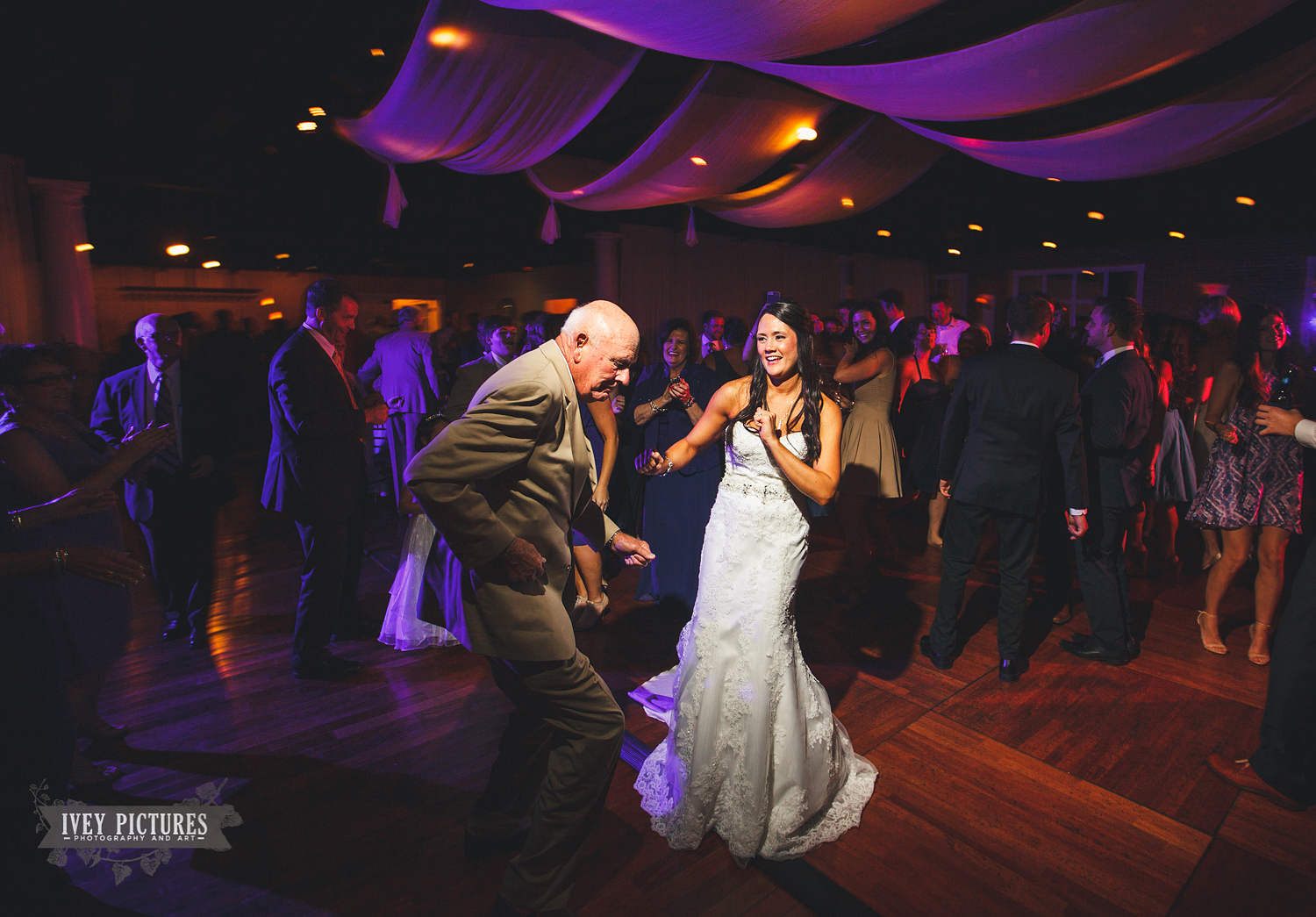 Reception Dancing at The White Room FL