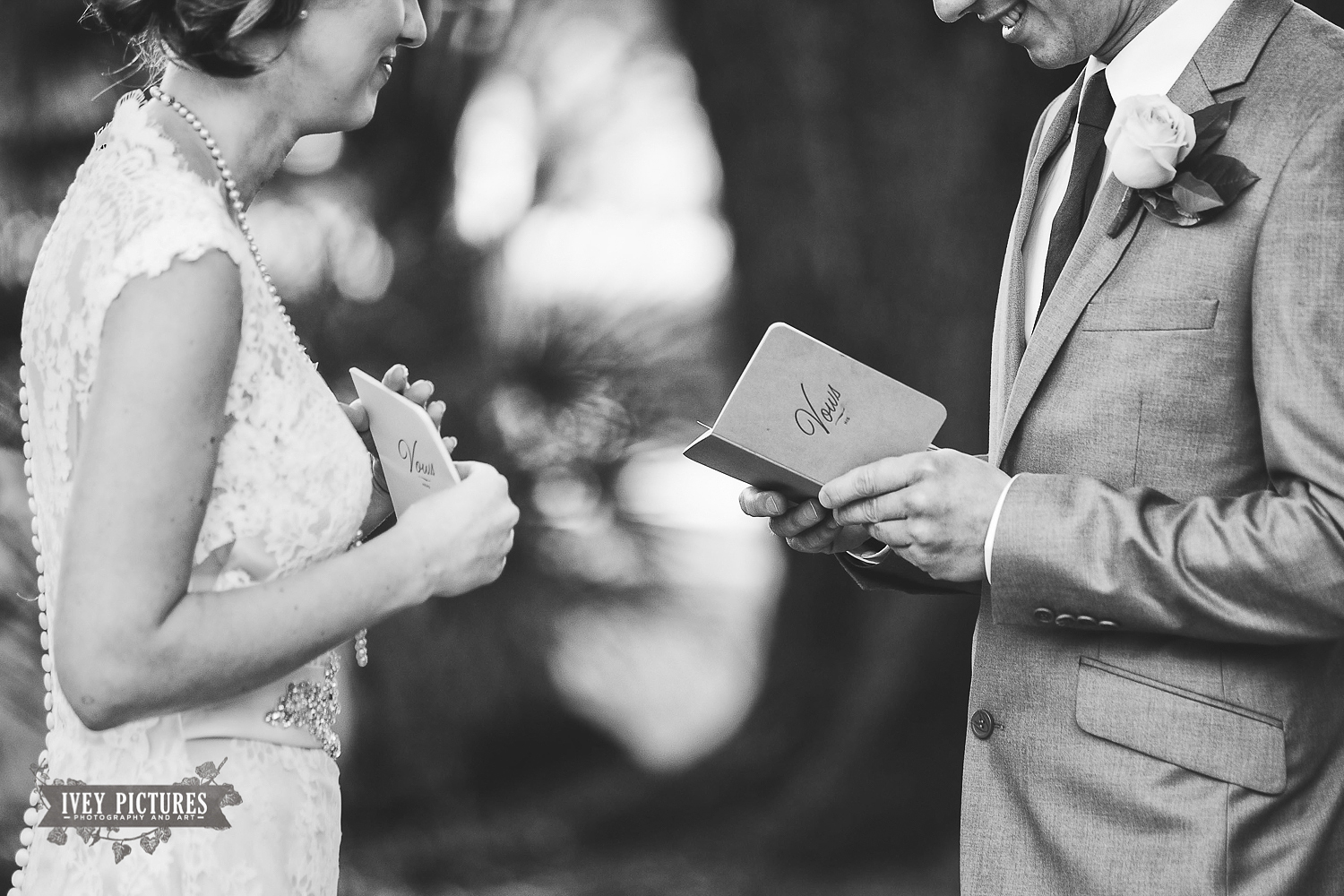 Reading Vows at First Look