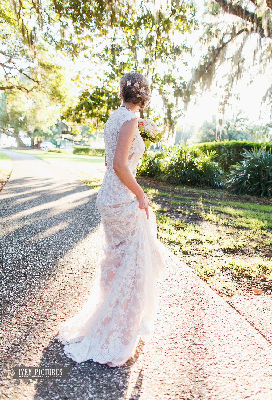 Bride at Jekyll Island