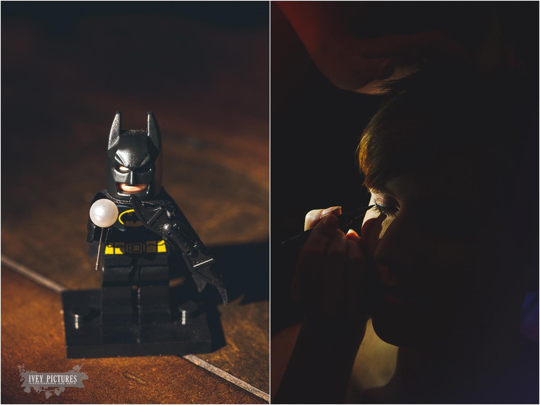 batman at a wedding