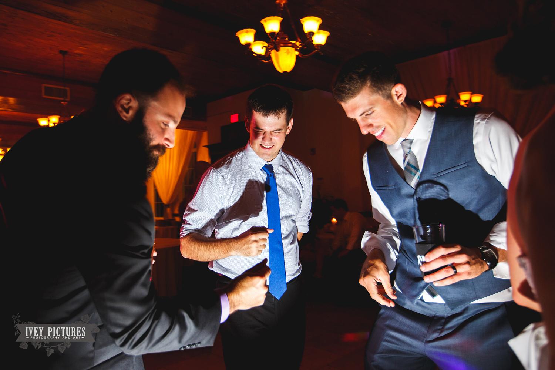 wedding reception lighting