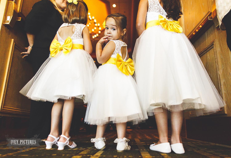 flowergirls in jacksonville wedding