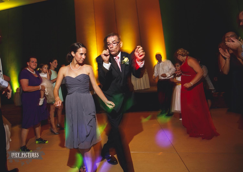 wedding dancing at reception