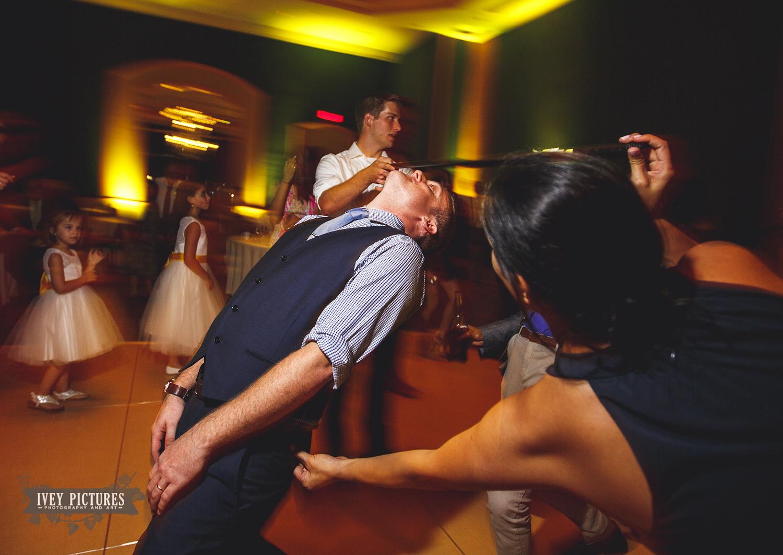 the limbo at wedding