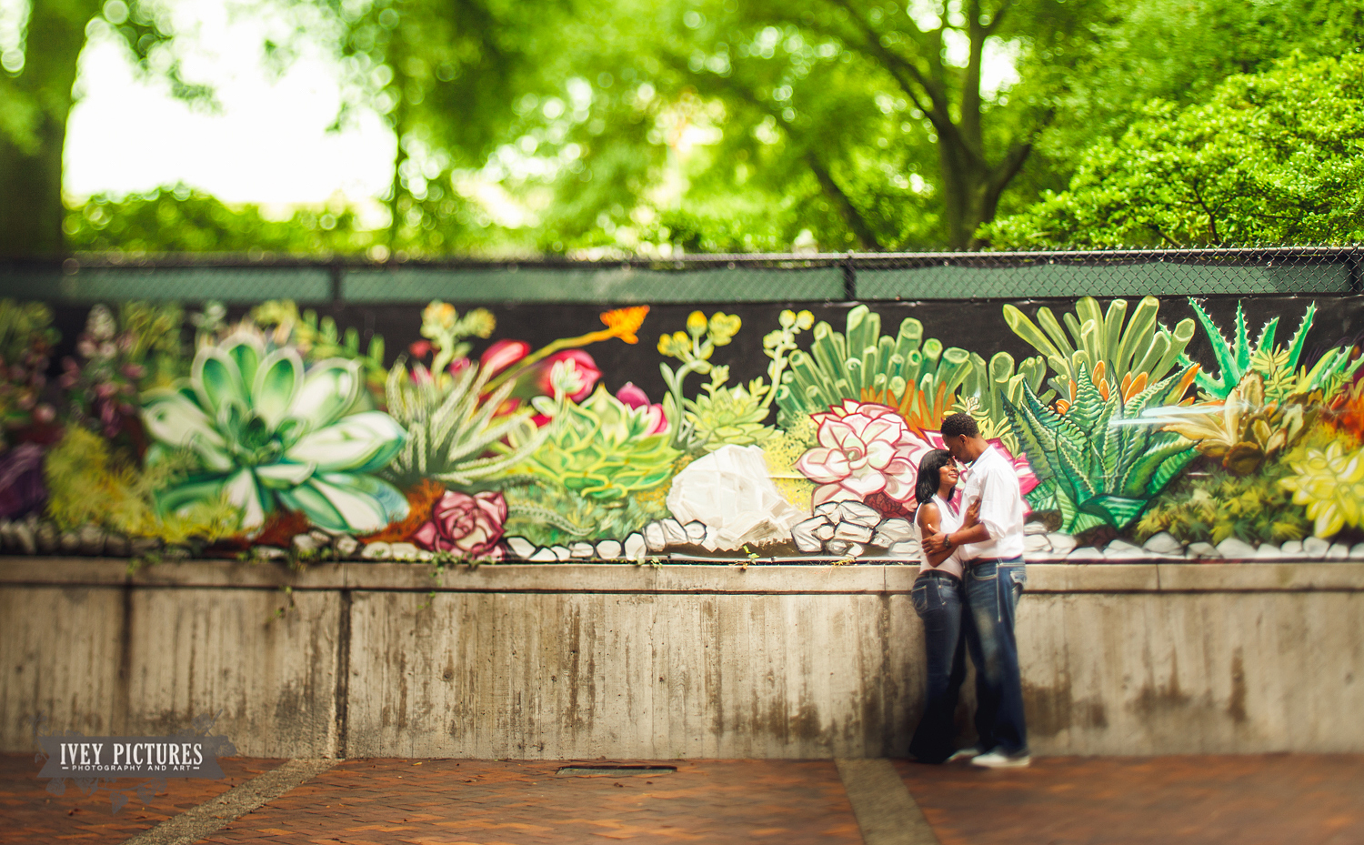 Downtown Jacksonville Engagement session