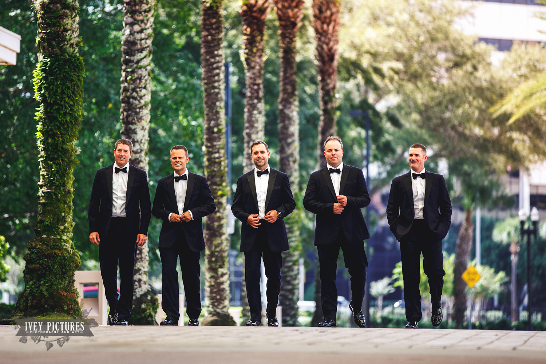creative grooms portrait
