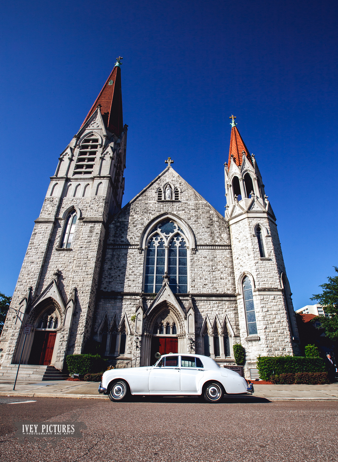 Church of the Immaculate Conception Jacksonville with Sir Gilbert