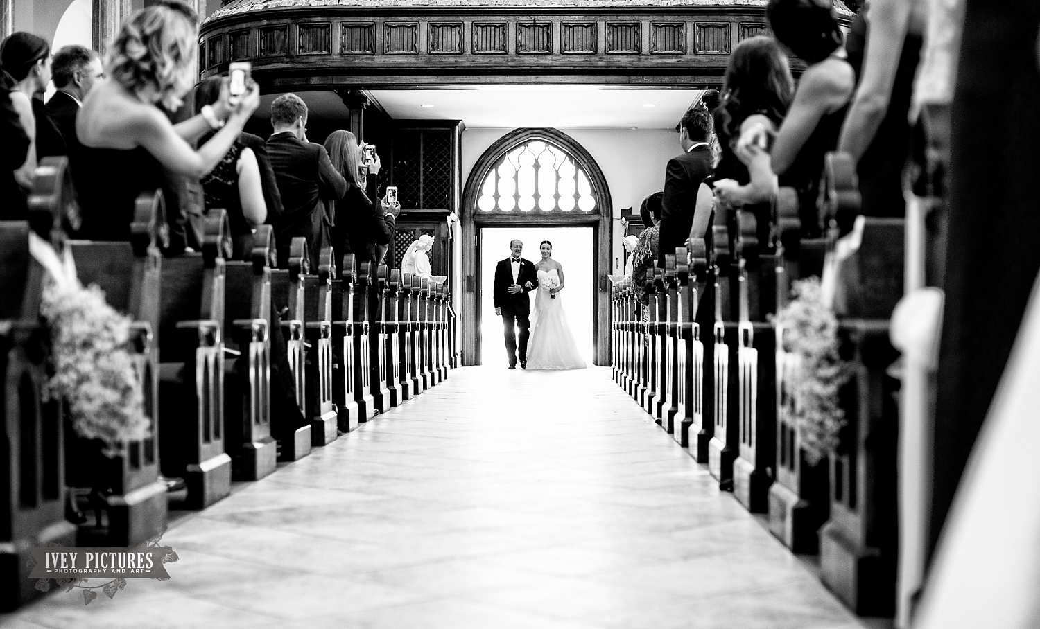 Church of the Immaculate Conception Wedding Photo