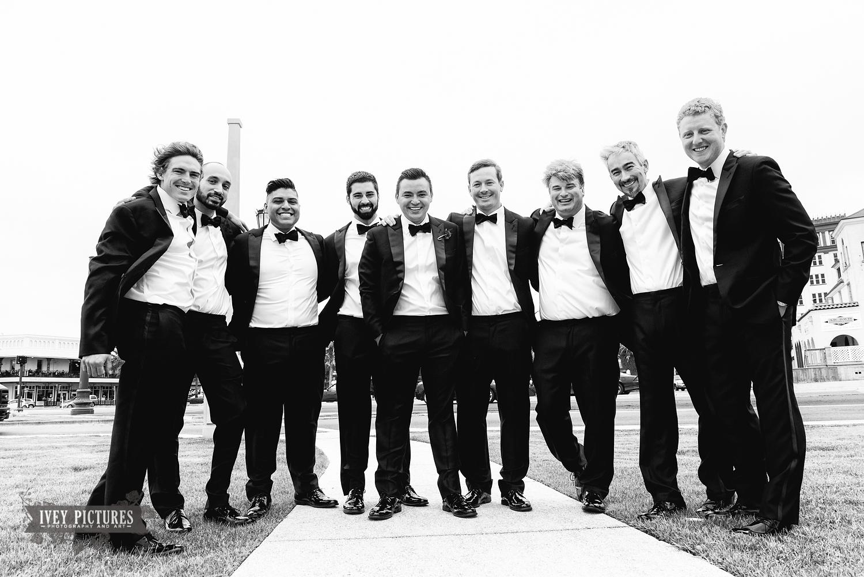 groom and groomsmen st. augustine