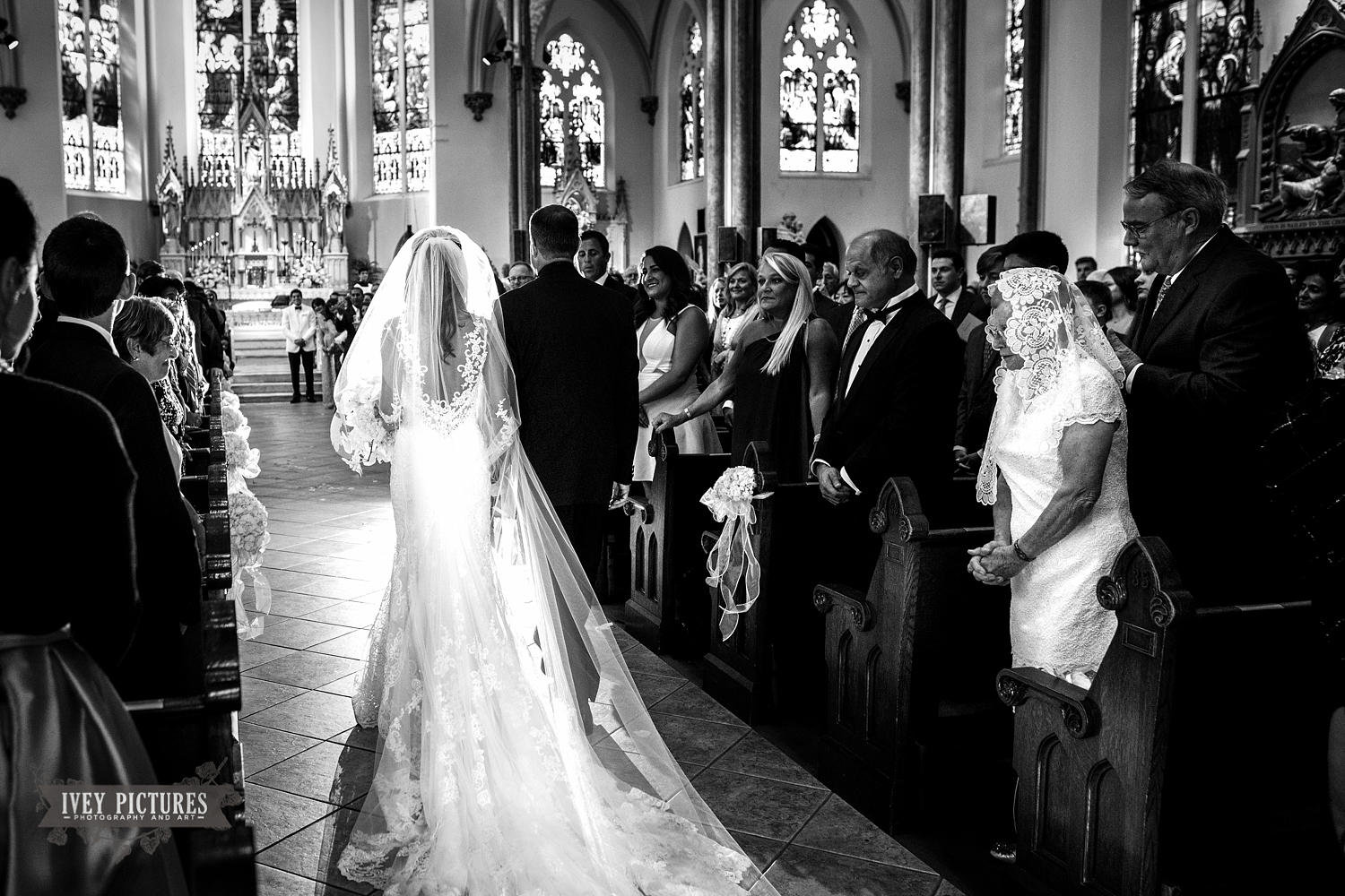 Church of the Immaculate Conception creative wedding photographer Jacksonville