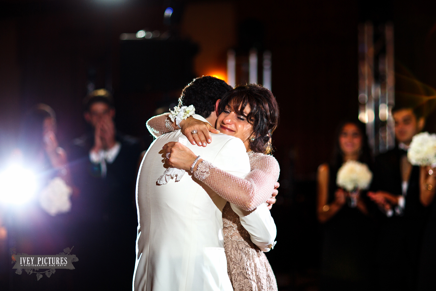 mother/son dance at TPC wedding