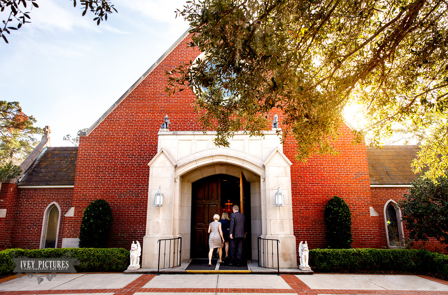 St Mark's Episcopal church wedding