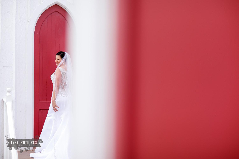 bride at st. mary's church