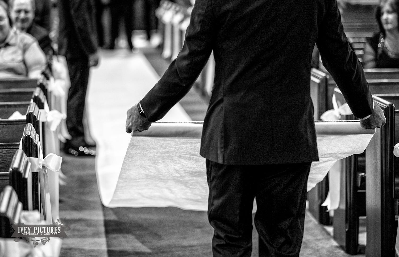 wedding ceremony runner