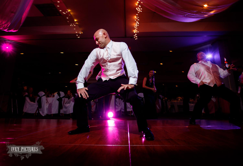 fun wedding reception