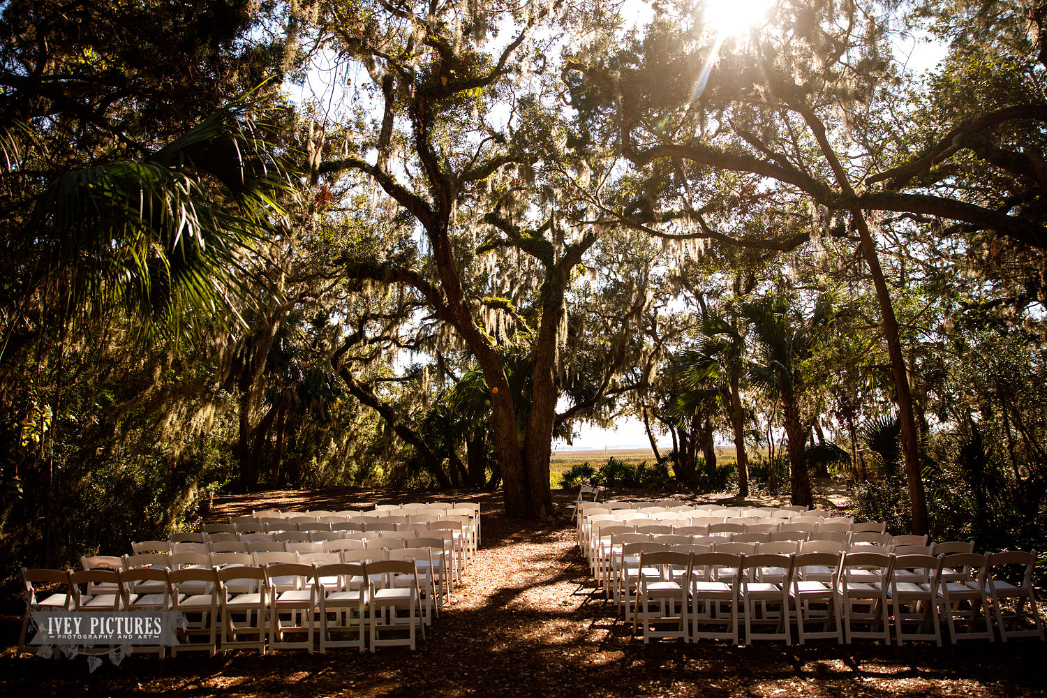 Outdoor Ceremony site at Walker's Landing