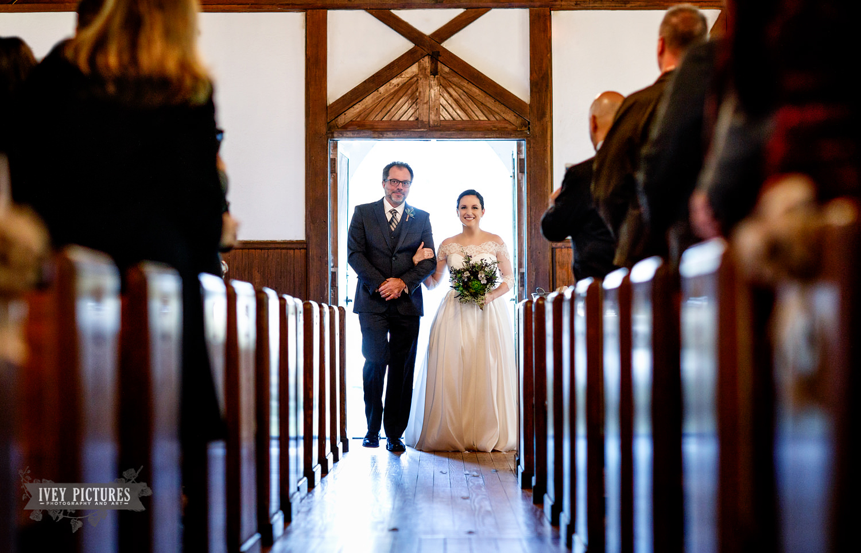 The Beaches Museum Chapel Wedding photos