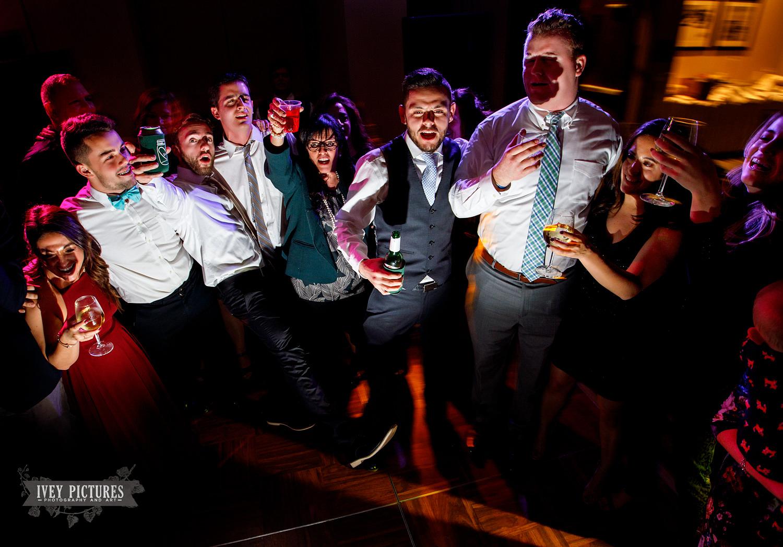 fun at wedding