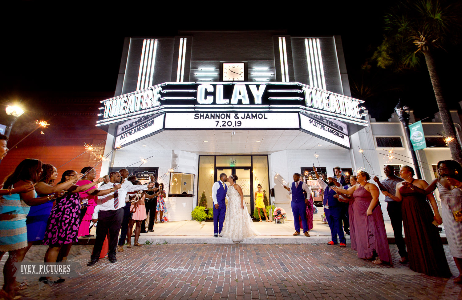 sparkler exit at the clay theatre