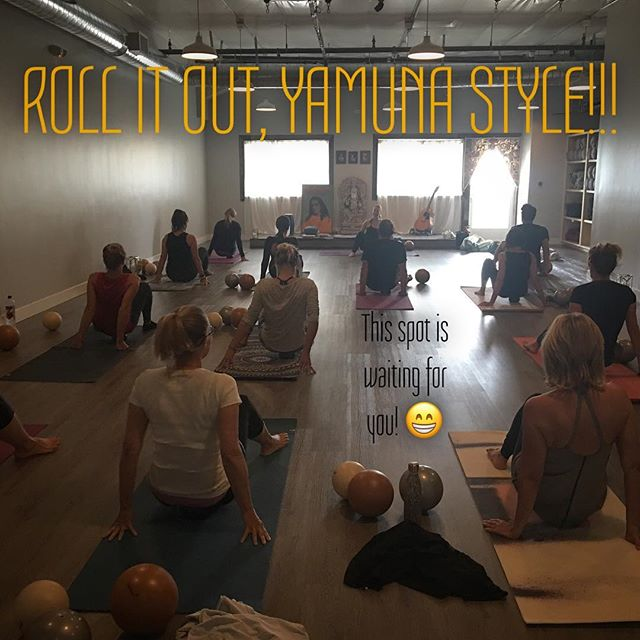 This class has become quite an addictive addition and beautiful balance to so many of our students practice!! Join this incredible group of humans every Monday & Friday evening from 5-6:15pm and Saturday morning at 11am! We're not kidding when we call this LIFE CHANGING!! Yay for Yamuna!!