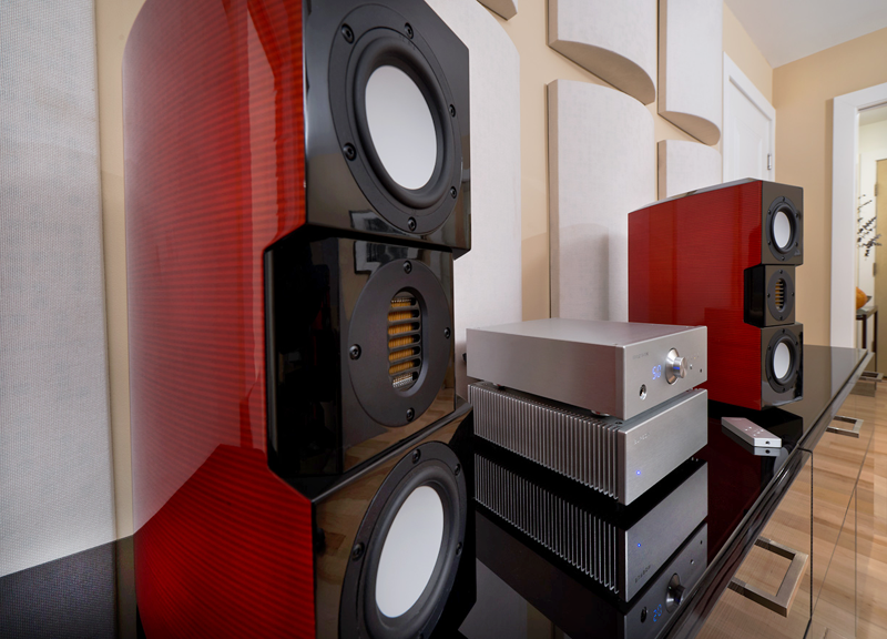 Timekeeper amplifier & Conductor Virtuoso make for the heart of a stunning audio system. © 2015Wes Bender