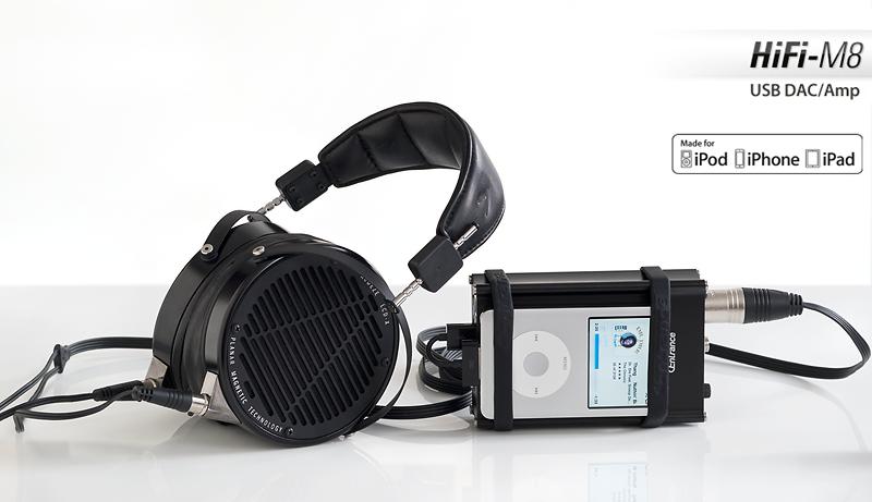 HiFi-M8 w/ Apple iPod Classic & Audeze LCD-X headphones © 2015 Wes Bender