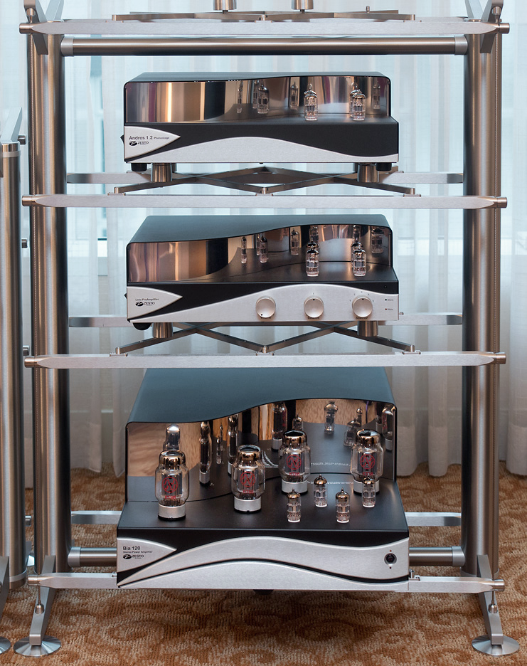 """Stillpoints ESS Rack with 26"""" wide Grid system & Ultra SS devices. © 2015 Wes Bender"""