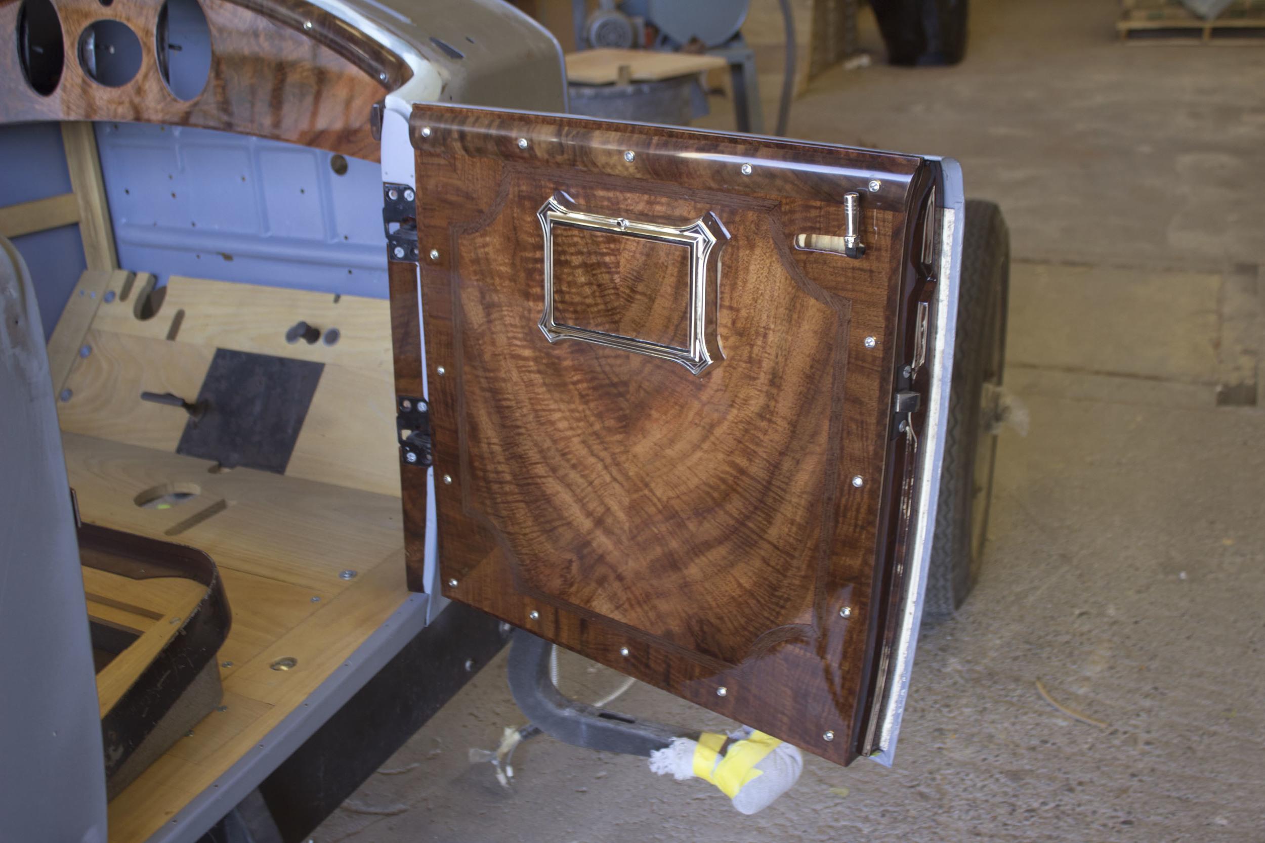 26 Hupmobile Door Panel