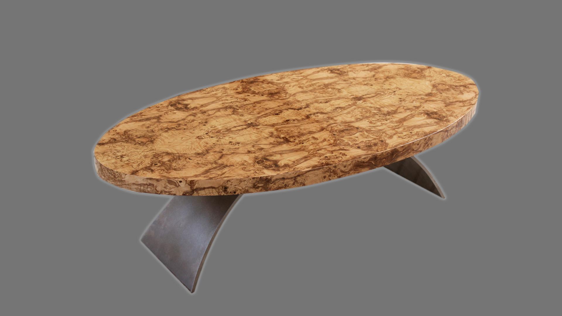 Olive Ash Burl Table