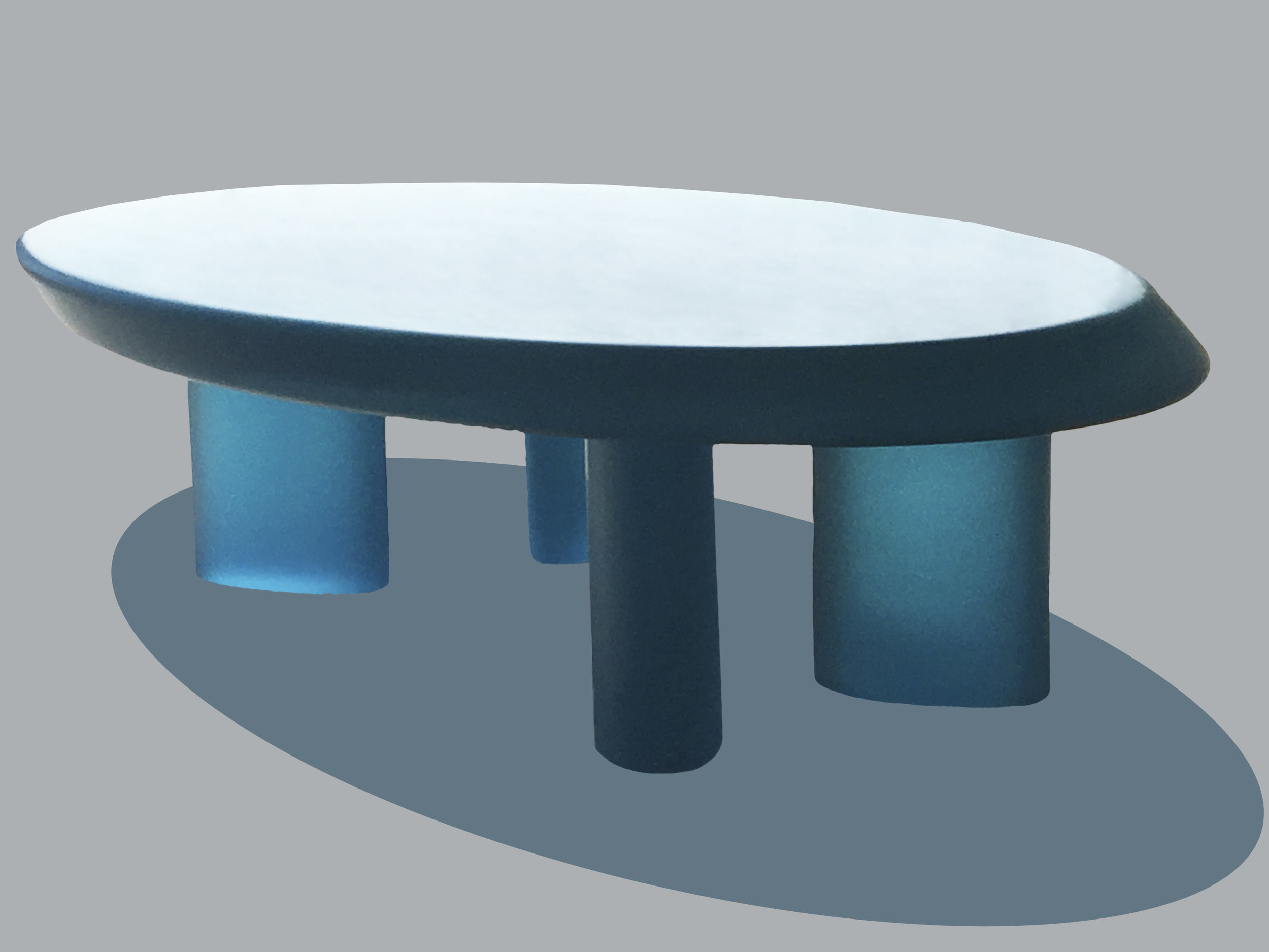 Translucent Resin Coffee Table
