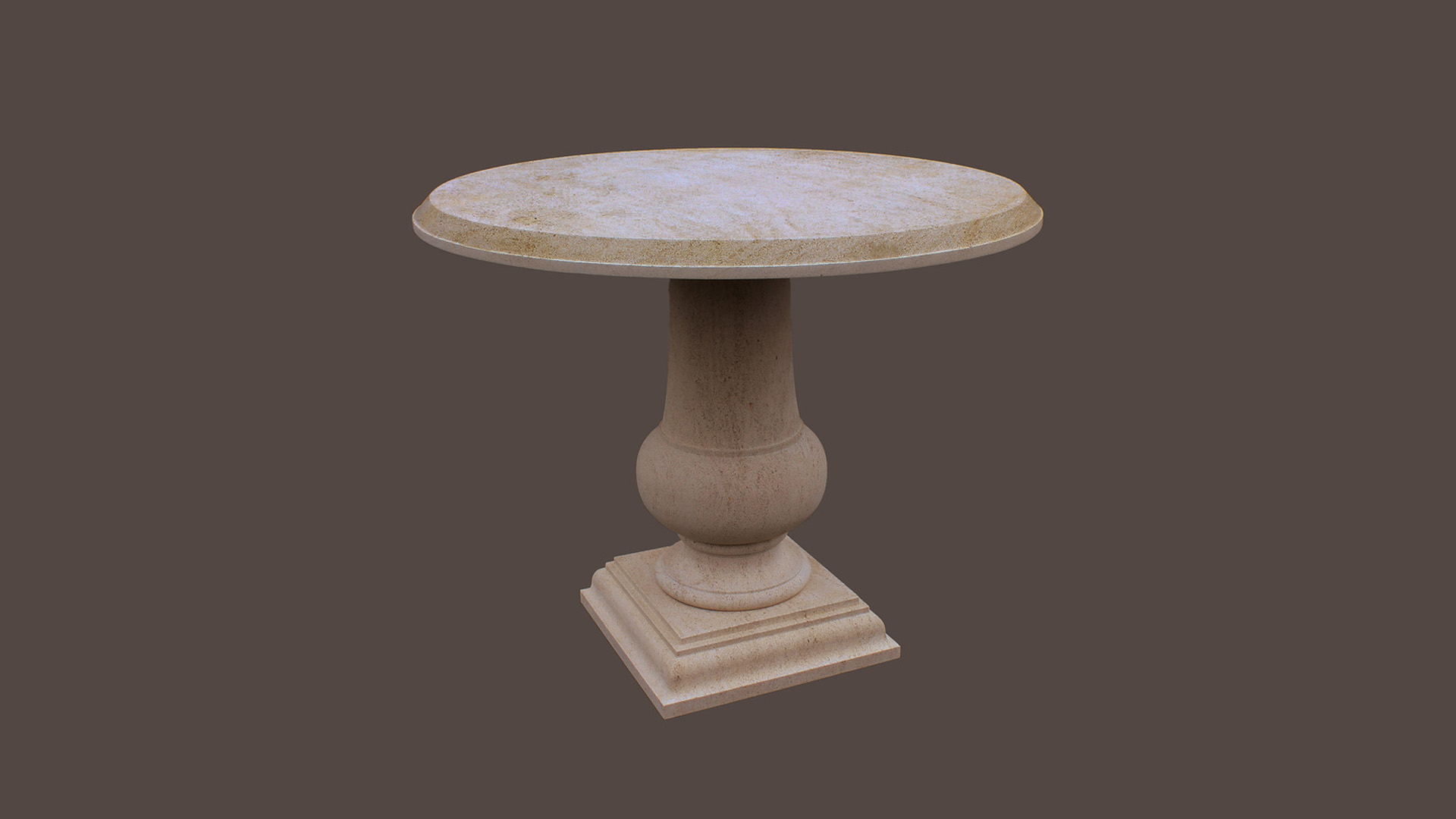 Tables in Beaumaniere Limestone