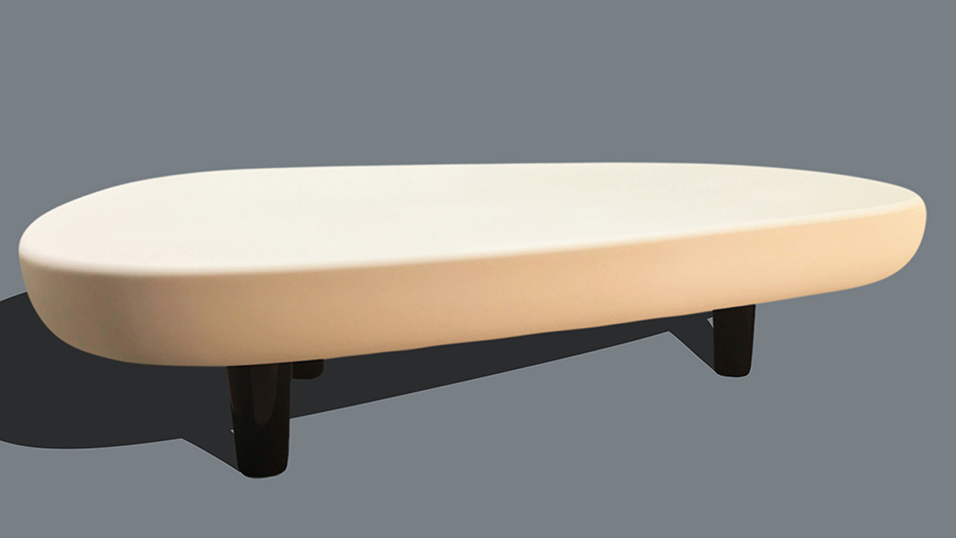 Contrasting Coffee Table