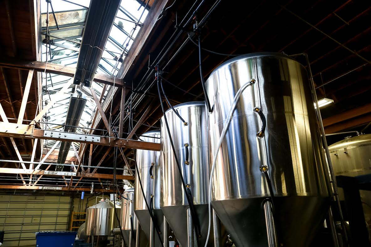 Dickens Production Brewery   Brewhouse:  20 bbl Newlands two vessel brewhouse   Tanks:  1 x 60 bbl Acer fermentor  2 x 60 bbl ABT fermentors  1 x 20 bbl GW Kent fermentor  3 x 60 bbl GW Kent fermentors  2 x 40 bbl GW Kent fermentors  1 x 60 bbl GW Kent brite tank  1 x 60 bbl ABT brite tank  2 x 12 bbl farmboy rigged acid tanks  1 x 30 bbl POS tank that we put bacteria in  1 x 25 bbl dairy rigged HLT   Kegging:  KHS Kegboy two head keg cleaner/filler - it's like the nicest thing we have  DMT Manual Keg Washer   Filter:  A plate and frame filter with 3 attached wheels and one detachable wheel   Bottling:   6-head Meheen 12 ounce bottle filler from the year 2000  4-head Meheen 750 mL bottle filler from the year 2016 (we like this one better because it knows metric... EDIT: we do not like this one better... EDIT: I guess it is okay)   Mousetrap Equipment   Same as Dickens Equipment but instead of a bunch of stainless steel tank, we have a bunch of wood ones.