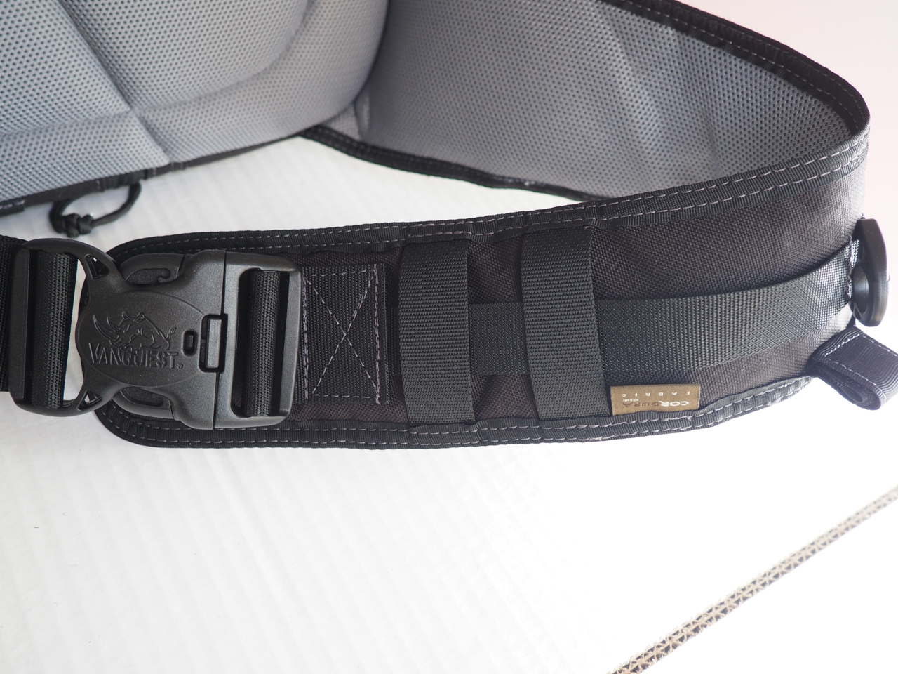 Loops on the strap