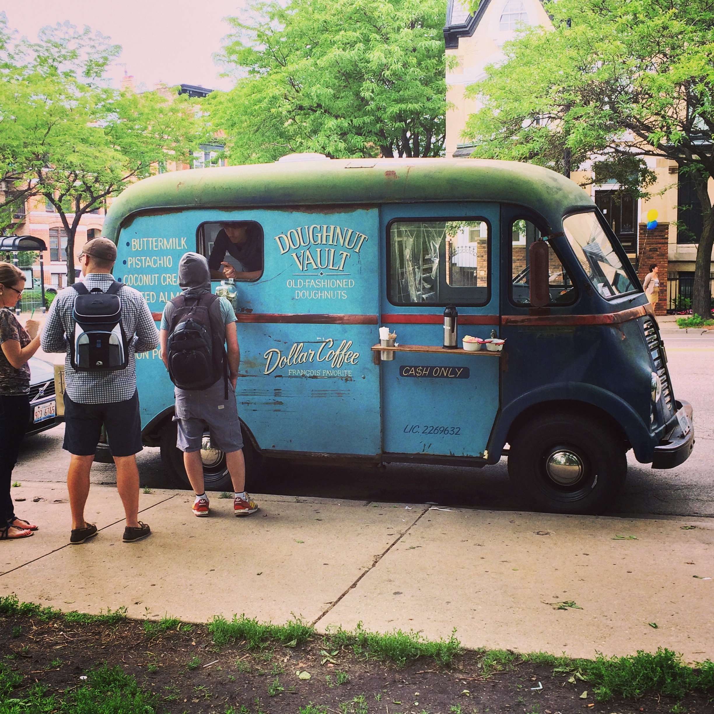 Doughnut Vault  donuts are my absolute fave! And how adorable is their doughnut truck?