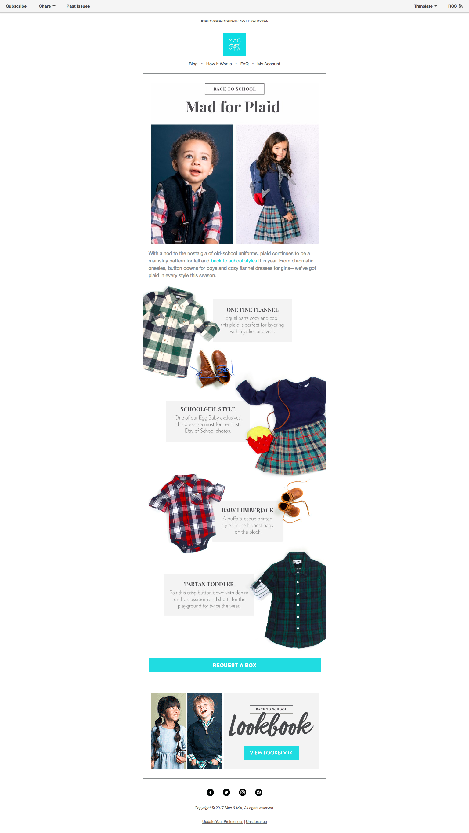 Back to School: Mad for Plaid