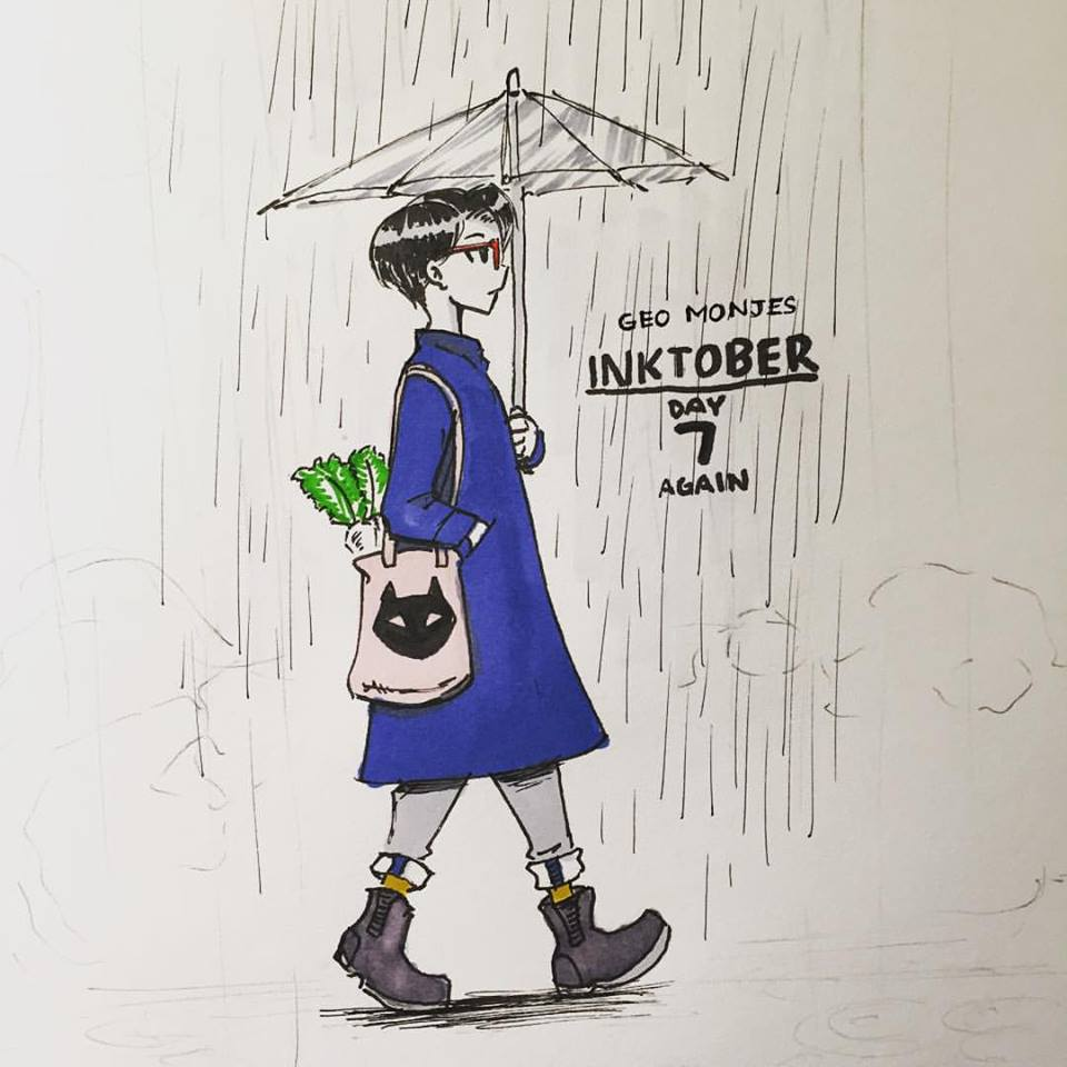 Day 7: (I wasn't really satisfied with the last one so I did another)Amazon Rainy Day Wishlist - Lawson clear Umbrella, Jins MCF-15S-U190 Red Violet Glasses, FANGIRRLZ NYAnki tee, black cat tote bag, Uniqlo Cashmere Chesterfield Coat in Blue, Dr Martens 2976 Boots, Daikon Raddish