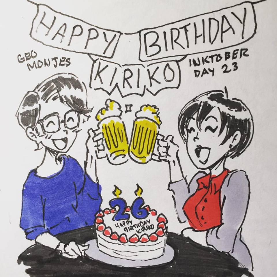 Day 23: Personal Wishlist - Go to Japan and celebrate the birthday of my Japanese sister. Happy Birthday Kiriko! It was so nice to see you this year, hope we can see eachother again!
