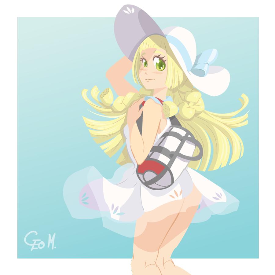 [Geo Monjes] Lillie (Pokemon Sun Moon)