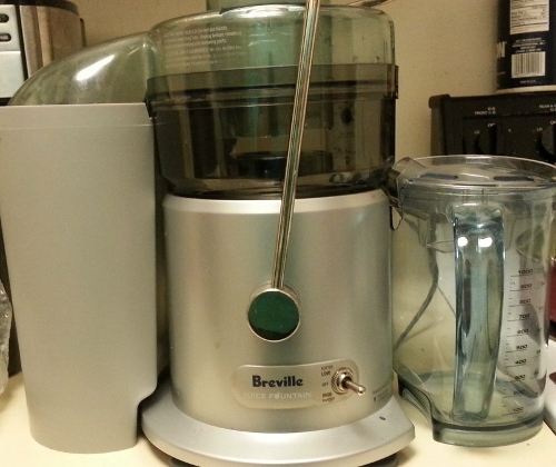 My Breville Juice Fountain